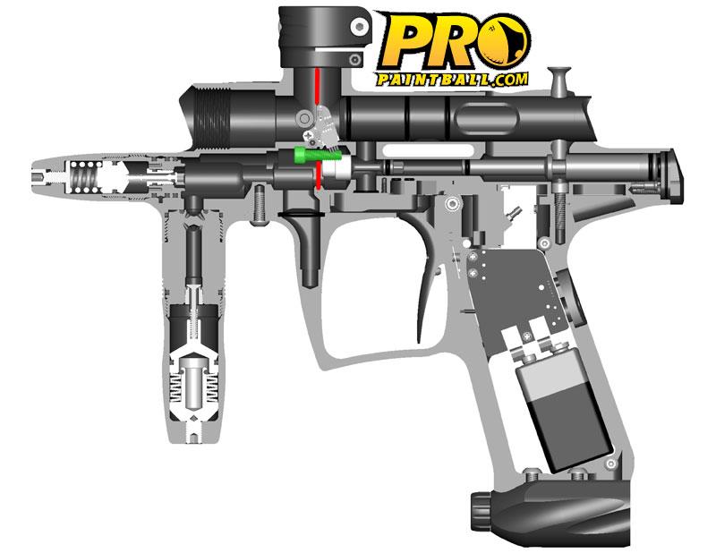 Как сделать пейнтбольный пистолет своими руками